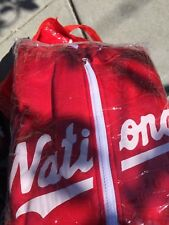 Washington Nationals - 2018 Zip-Up Hoodie 9/3/18 SGA size XL - New in Wrapper