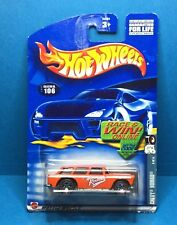 Hot Wheels 2002 Chevy Nomad Red Lines Series 4 of 4 Collector No. 106