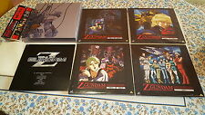 Gundam Z LD Box Set vol.1-7 LaserDisc NTSC Japan JAPANESE LASER DISC