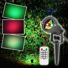 US Laser Christmas Waterproof Light Outdoor Holiday Decoration Garden Projector