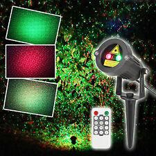Laser Christmas Lighting Outdoor Waterproof Projector Landscape Tree Decoration