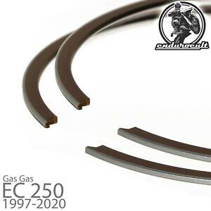 2x anillos de pistón para Gas Gas EC 250 / EC250 / MC250 1997-2020 (segmento)