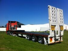 NEW DROP DECK SEMI TRAILER UTA TRI AXLE ALL MODELS AVAILABLE NOW BRAND NEW!!!!