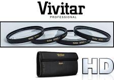 For Samsung NX200 NX100 NX10 (20 or 30mm Lens) 4Pc Macro Vivitar Close Up Lens