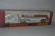 Ertl Case Kenworth T600B Tractor w/ Drop Body Van Trailer 1:87