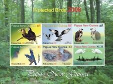 Papua New Guinea 2008 - Protected Birds Sheet of 6 Stamps MNH