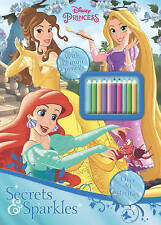 Disney Princess Secrets and Sparkles by Parragon Books Ltd (Mixed media product, 2016)