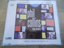 PHIL COLLINS TWO HEARTS / THE ROBBERY 1988 3 INCH CD SINGLE RARE WEA RECORDS OOP