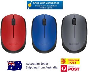 Logitech M170 Mini Wireless Mouse for Desktop Laptop PC USB Receiver