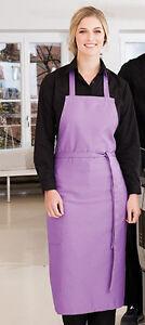 Kochschürze Latzschürze Schürze Küchenschürze Vorbinder 17 Farben zur Auswahl