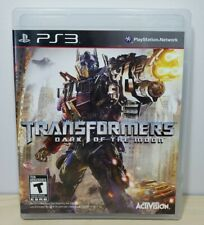 Transformers: Dark of the Moon - Sony PlayStation 3, 2011 - Complete