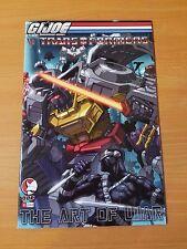 G.I.Joe Vs. Transformers: The Art of War #4 ~ NEAR MINT NM ~ (2006, DDP Comics)