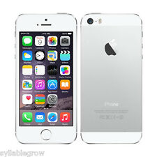 "APPLE IPHONE 5S A1533 4"" 32GB 4G Smartphone Móvil Libre 1080P Desbloqueado Plata"