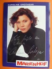 -ah- Caroline Grothgar, Marienhof Autogrammkarte (mit Widmung)