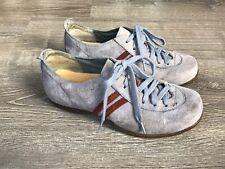 Merrell Duet Sport Denim Blue Suede Leather Lace Up Blue Gray Shoe Sz 8M