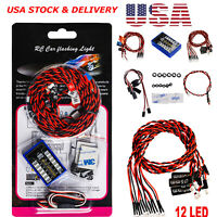 Details about  /AX-501BL//AX-501C//AX-501MC Ultra Bright LED Lamp Kit for Axial SCX10 RC Car S2F9