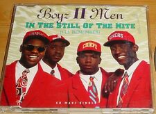 Boys II Men - In The Still Of The Nite - CD Single 1992