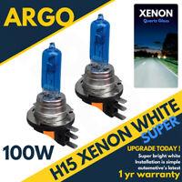 H15 DRL Audi Golf MK7 High Beam Bulbs White Xenon Canbus Error Free Headlight