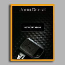 John Deere Tx Gator Utility Vehicle Owners Operators Manual 1