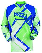 NOS MSR 351203 M13 MAX AIR JERSEY BLUE GREEN SIZE MENS MEDIUM