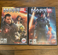 Mass Effect 2 & 3 For PC EA- BioWare M For Mature