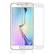 3D FULL COVER Samsung Galaxy S6 Edge 4D PANZERGLAS TC2K Glas KLAR Panzerfolie