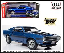 New Auto World Collectible '69 Shelby GT-350 Pilot Car 1:18 Scale Diecast Car