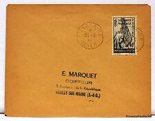 LETTRE ENTRAIDE AVIATION   ALGERIE    1944 Yt PA1   166ca171