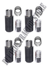 Belarus tractor cylinder and piston set on the engine (4PC) 400A/400AS/420/450