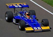 Racer Vintage Indy 500 Race Car 1970s Sport Midget F 1 Formula Carousel Blue 18