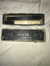 THE OLIVER TYPEWRITER CO BRUSHES (2) In Original Box
