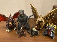 Godzilla King Ghidorah Destroy Figure Movie Monster Series Soft Vinyl 6 Set