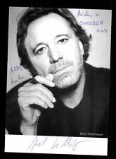 Gerd Silberbauer Autogrammkarte Original Signiert # BC 61361