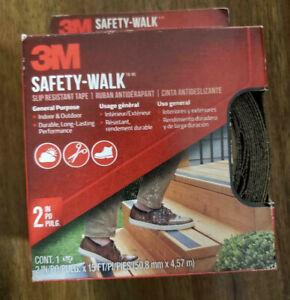 "3M™ Safety-Walk™ Slip Resistant Tread 600 GRIT length 2"" x 180"" 15ft"