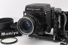 【AB Exc+】 Mamiya RB67 Pro S w/SEKOR C 90mm f/3.8 Lens, Grip, 220 Film Back #3024