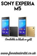 Teléfonos móviles libres Android Sony de oro