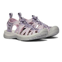 Keen Womens Whisper Walking Shoes Sandals - Grey Pink Purple Sports Outdoors