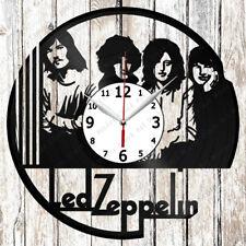 Led ZEPPELIN Vinyl Wall Clock Made of Vinyl Record Original gift 2641