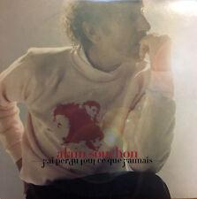 Alain Souchon CD Single J'Ai Perdu Tout Ce Que J'Aimais - Promo - France (EX/EX