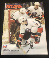 1980-81 New York Islanders Official Program NHL NY