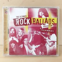 THE ULTIMATE ROCK BALLADS COLLECTION STOLEN MOMENTS VARIOUS 2 CD DISCS FREE P&P