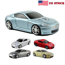 3D 2.4Ghz Wireless Aston Martin Car Mouse Optical Gaming Mice For Laptop PC +USB