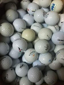 Mélange de 200 Balles De Golf tres bon etat