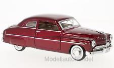 Mercury Coupe, metallic-rot, 1949 - 1:24 MotorMax   *NEW*