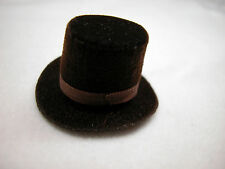 Heidi Ott  Dollhouse Miniature 1:12 Scale Men's Top Hat  #XZ781 DB