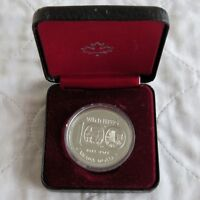 CANADA 1974 WINNIPEG CENTENNIAL SILVER PROOFLIKE DOLLAR - cased