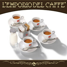 Set illy World Mondo 4 Bicchieri Tazzine Cucchiaini Cups Matteo Thun - Regalo