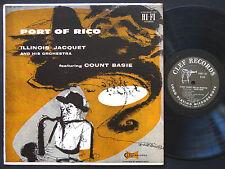 ILLINOIS JACQUET COUNT BASIE Port Of Rico LP CLEF RECORDS MGC-701 US '57 DG MONO