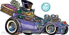 Coffin Hauler Sticker Decal Artist Von Franco VF24 Roth Like