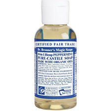 Dr. Bronner 2 oz. Peppermint Soap Travel and trial size.